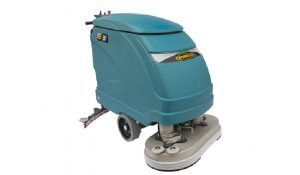 lavasciuga pavimenti elettrica nuova eureka e81 produttività oraria 3650 metri quadrati ora
