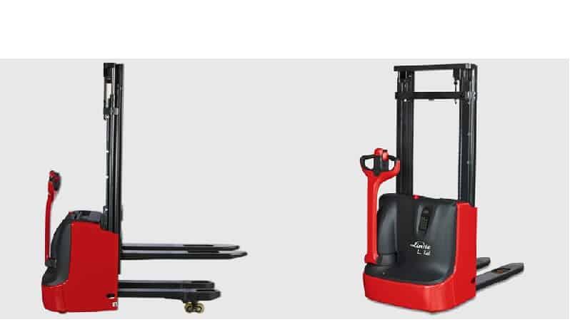 stoccatore elettrico linde l10 orzi carrelli elevatori. Black Bedroom Furniture Sets. Home Design Ideas