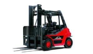 carrello elevatore nuovo ad alimentazione a gasolio della Linde modello h80d serie 396-02